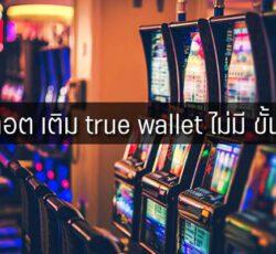 สล็อต เติม true wallet ไม่มี ขั้นต่ำ